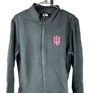 Jackets & Coats - Indiana Hoosiers Team Script Full Zip Fleece Jacke